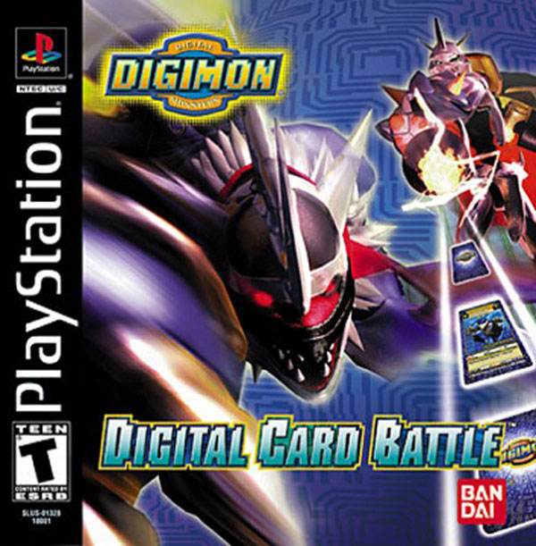 Digimon - Digital Card Battle [U] Front Cover